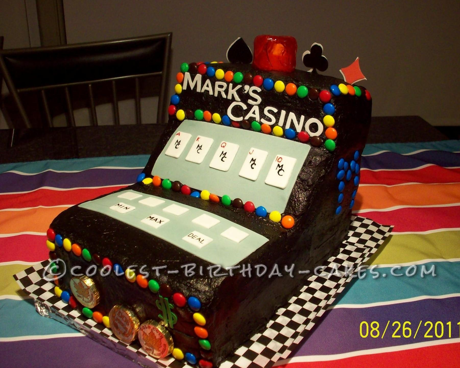 Coolest Casino Video Poker Cake