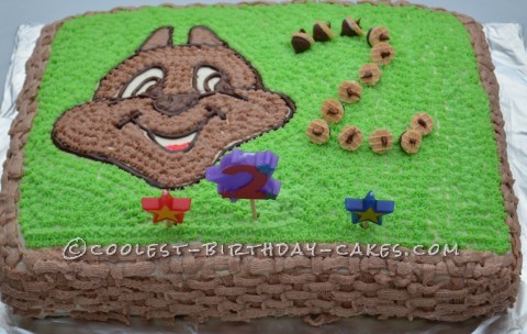 Coolest Chip 'n' Dale Birthday Cake