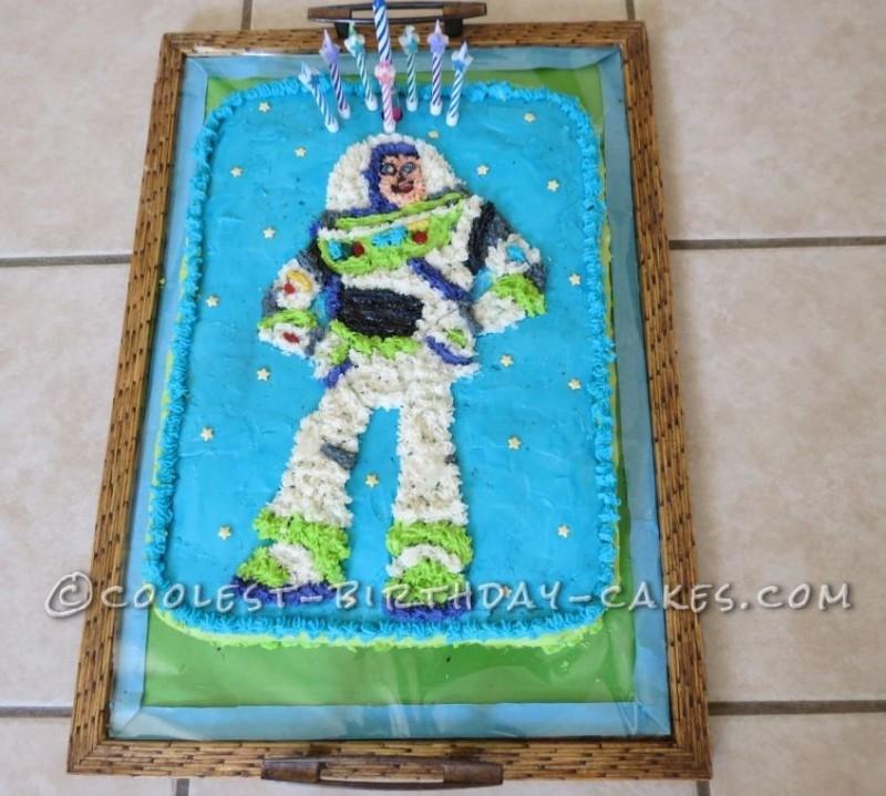 Coolest Buzz Lightyear Birthday Cake