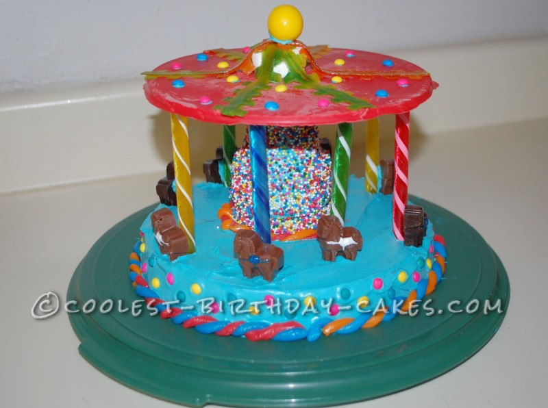 Coolest Carousel Birthday Cake