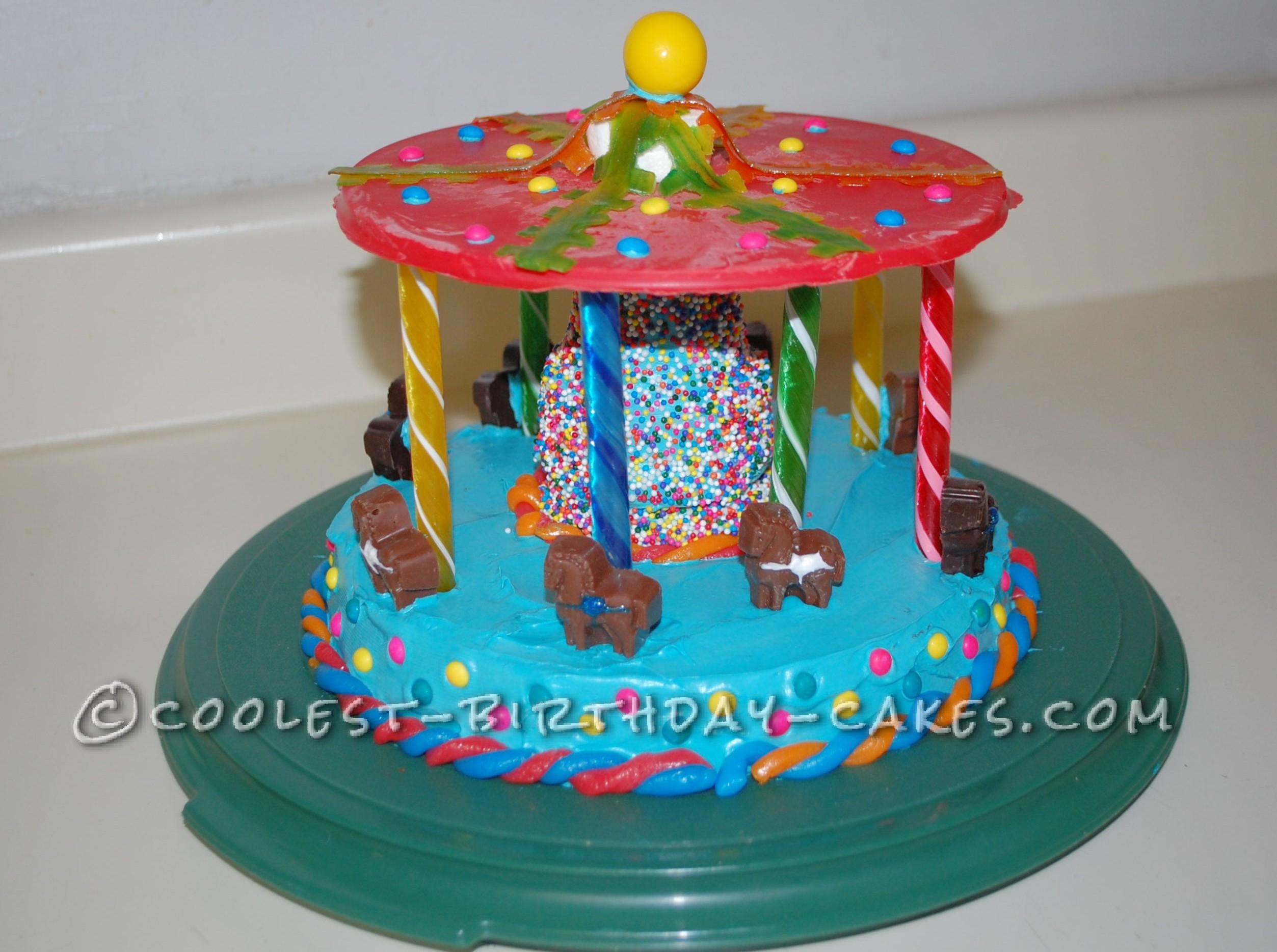 Coolest Carousel Birthday Cake