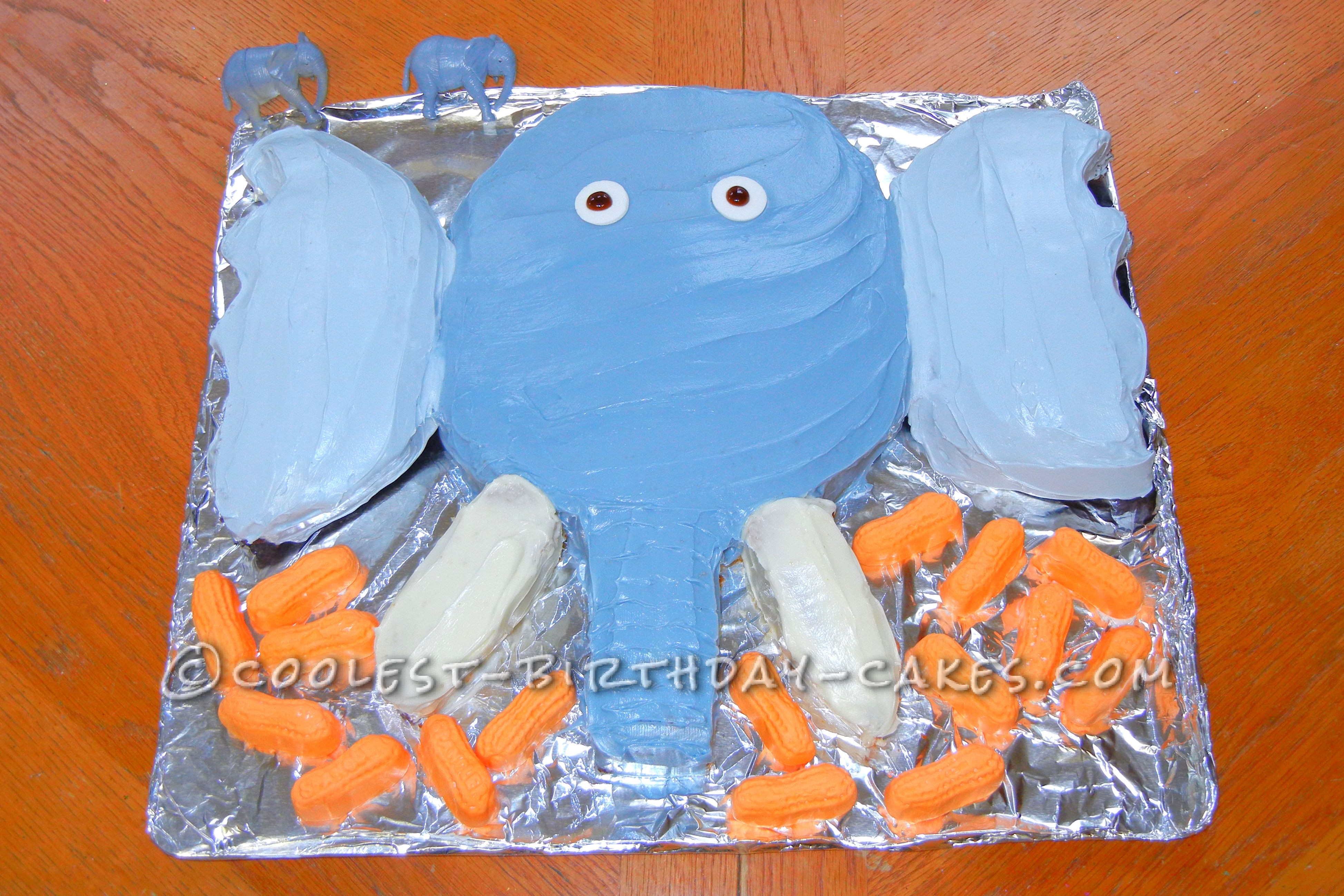 Coolest Elephant Birthday Cake