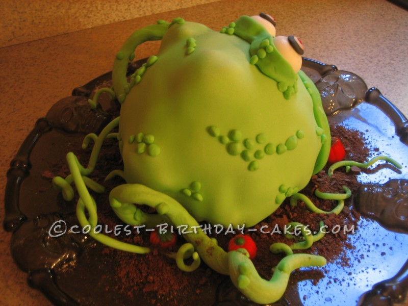 Coolest Halloween Monster Cake