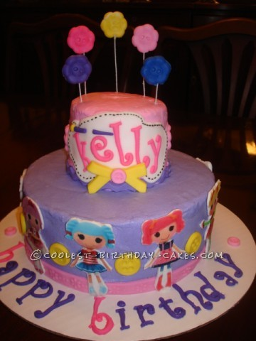 Coolest Lalaloopsy Birthday Cake
