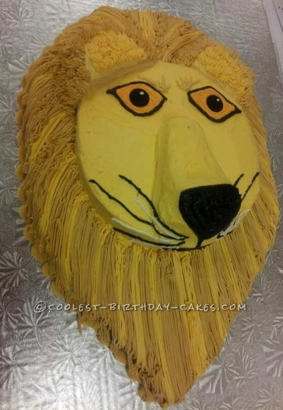 Coolest Leo the Lion Birthday Cake
