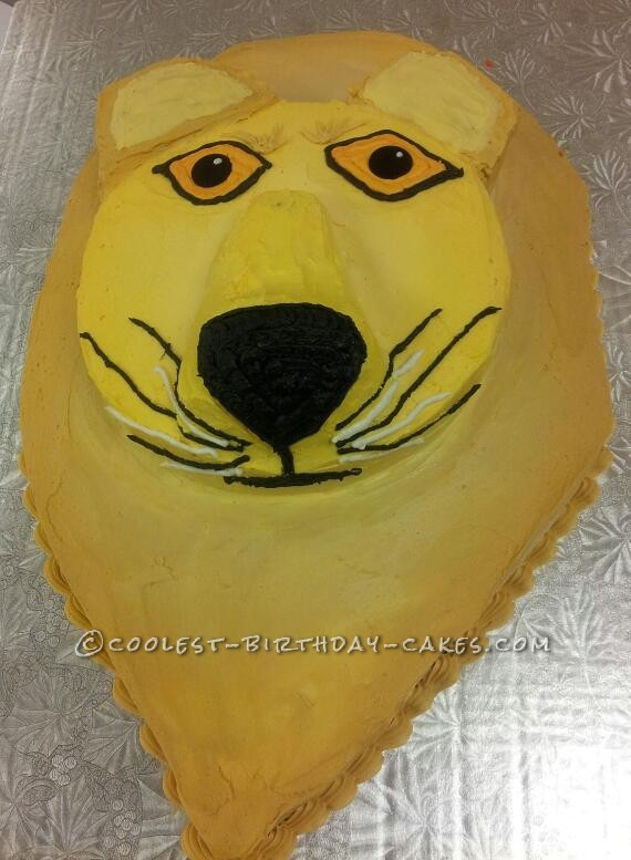 Coolest Leo the Lion Birthday Cake