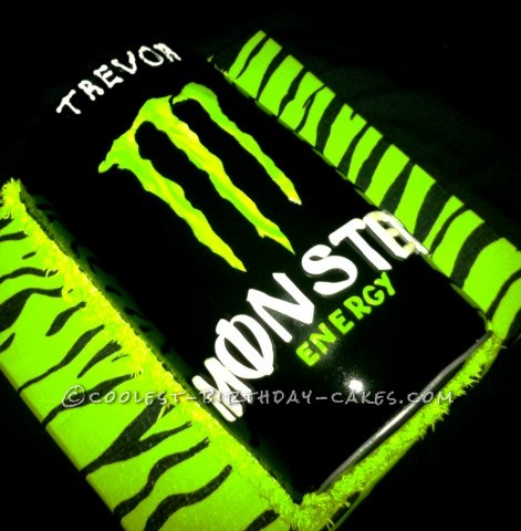Coolest Monster Energy Drink Cake