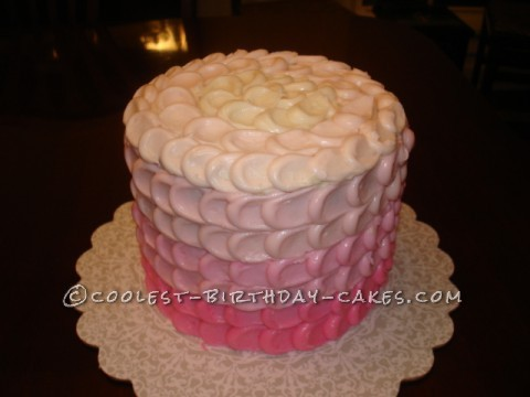 Coolest Ombre Birthday Cake