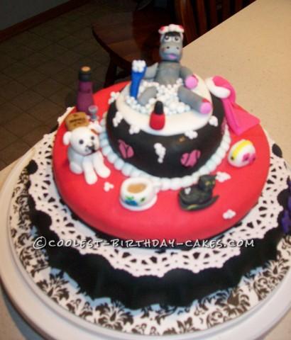 Coolest Retirement Bubble Bath Cake