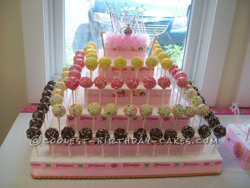 Disney Princess Cake Pops for a Very Special 4 Year Old