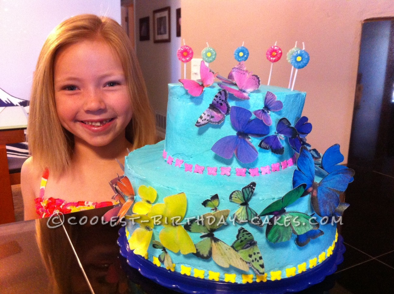 Gorgeous and Easy - Beautiful Butterfly Cake