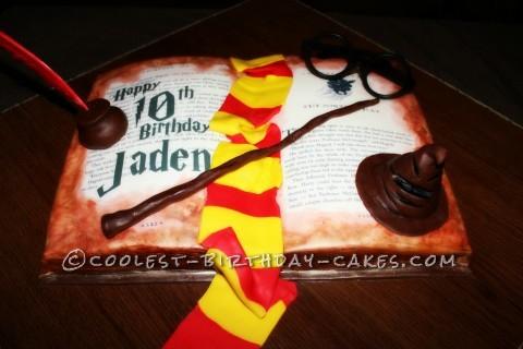 Harry Potter Sorcerers Stone Cake