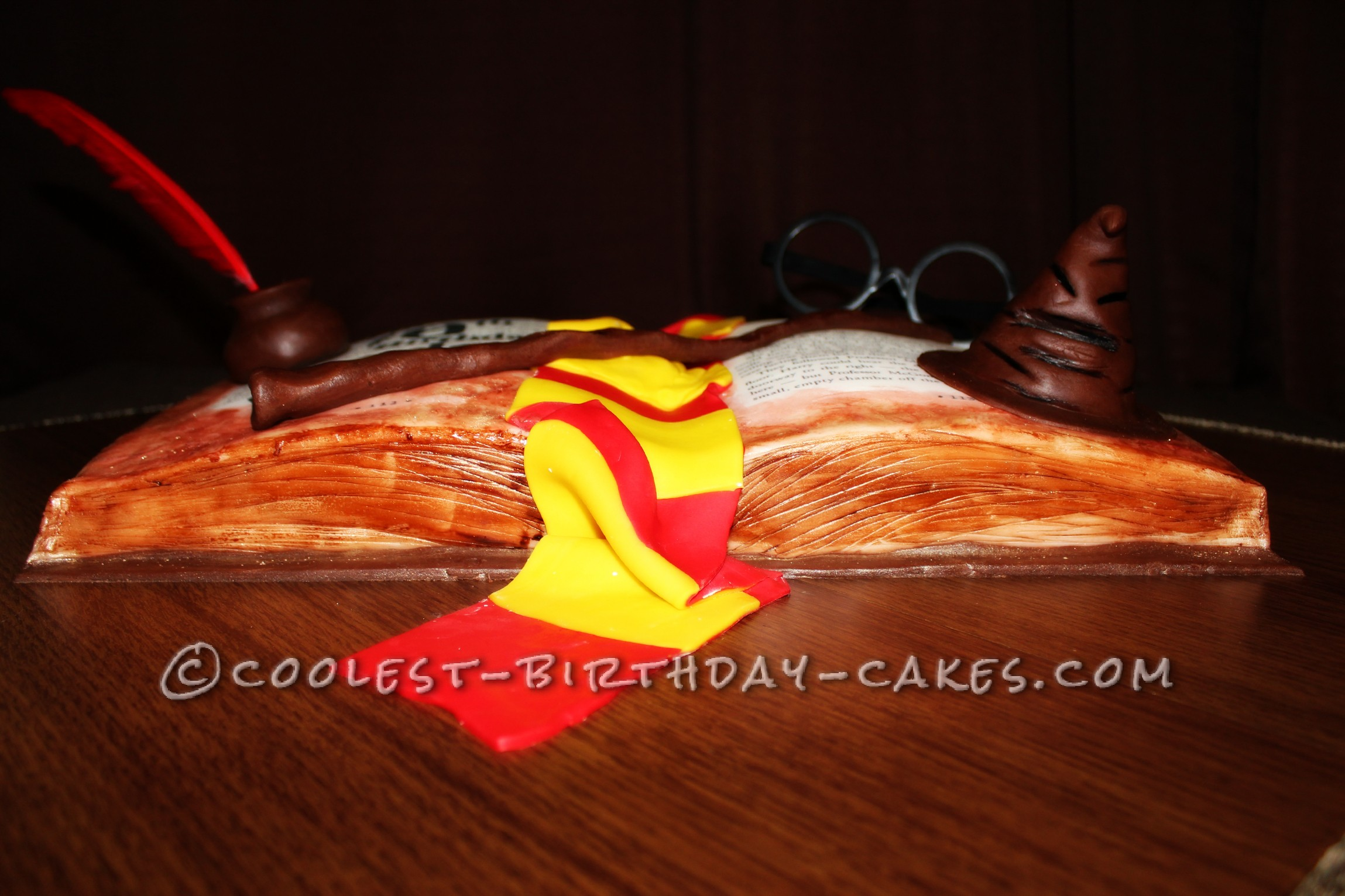 Harry Potter and the Sorcerer's Stone Birthday Cake