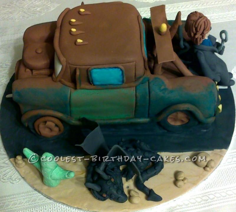 Dragon Birthday Cake Design