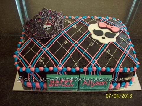 Monster Cuteness Cake