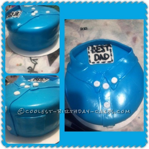 Fondant Cake Ideas For Father S Day : Coolest Fondant Father s Day Cake