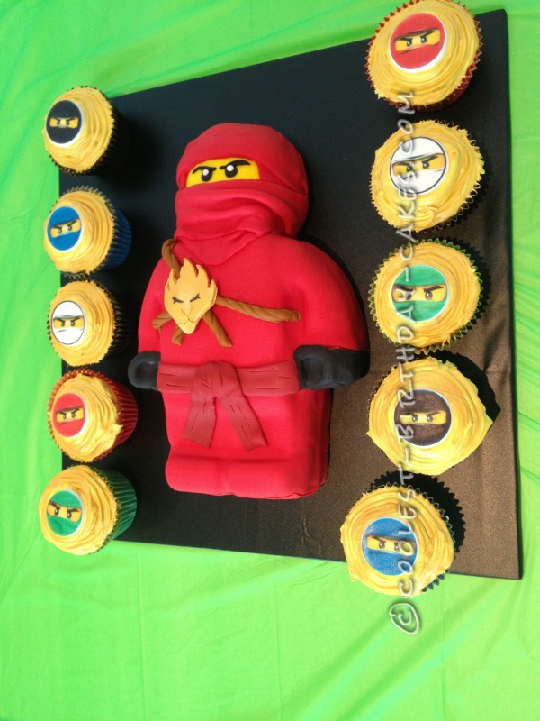 Coolest Ninjago Kai Birthday Cake
