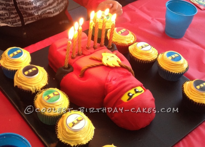 Home GameToy Ninjago Coolest Kai Birthday Cake