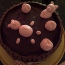 Pigs in the Hot Tub Cake