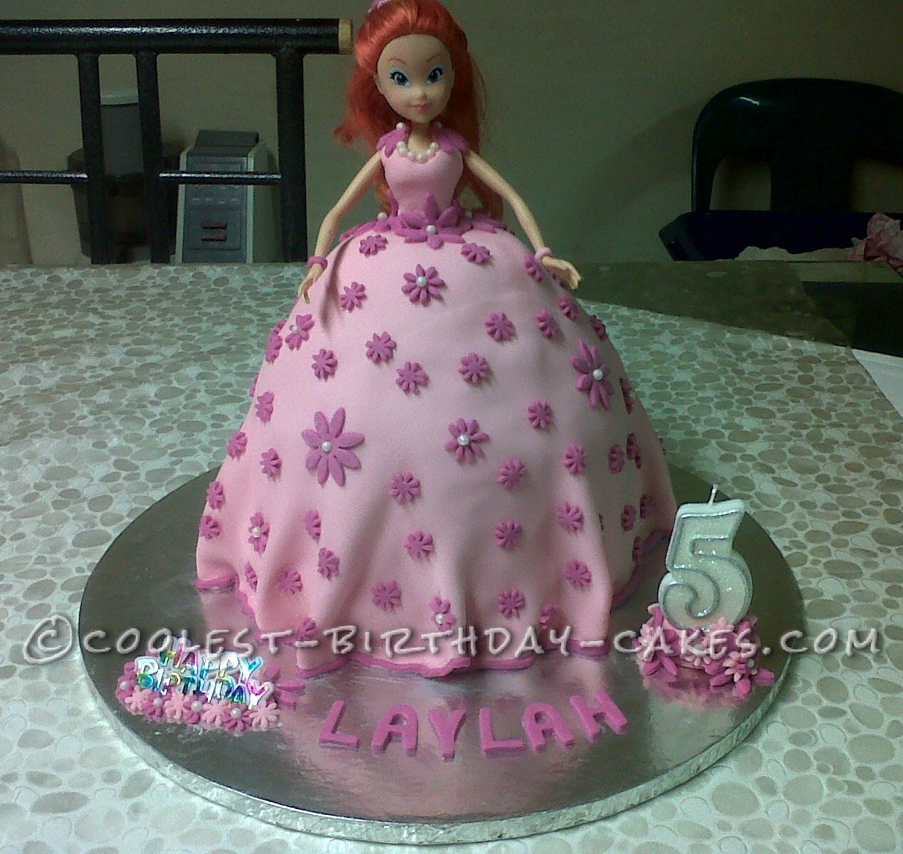 Pretty Brat Birthday Cake