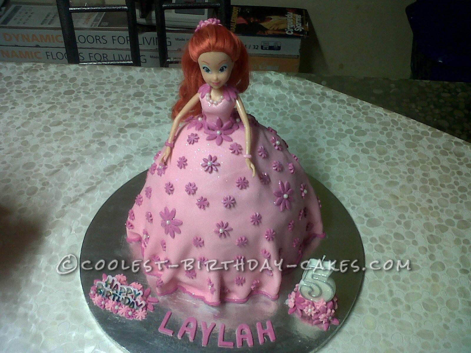 Pretty Brat Birthday Cake