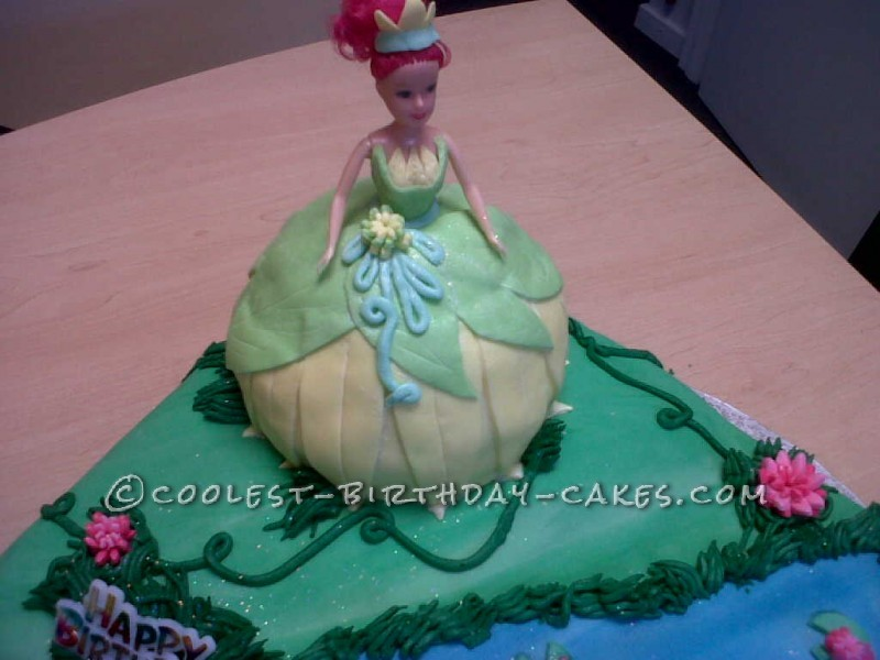 Coolest Princess and the Frog Birthday Cake