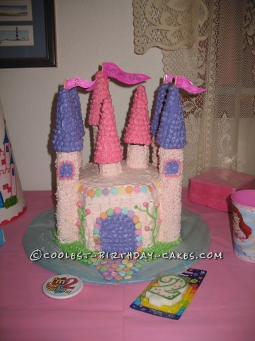 Coolest Princess Castle Cake