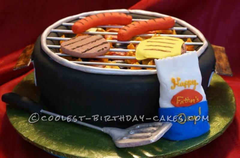 Marvelous Thats A Cake Grill Birthday Cake Personalised Birthday Cards Xaembasilily Jamesorg