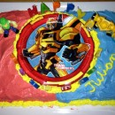 Coolest Transformer Birthday Cake