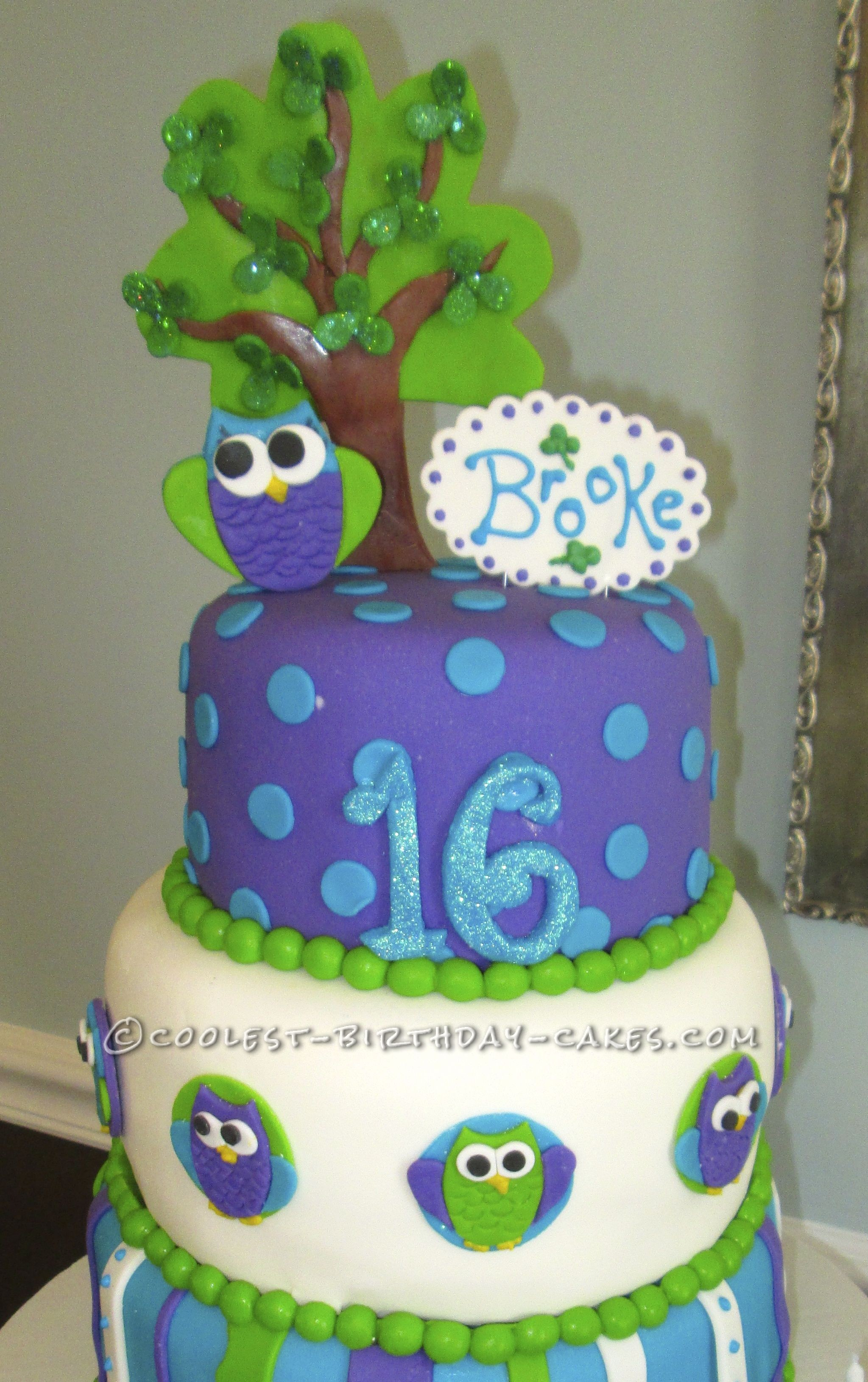Who's Sweet 16 on St. Paddy's Day Cake
