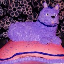 3D Show Dog Birthday Cake