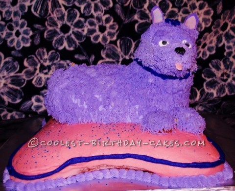 3D Show Dog Birthday Cake