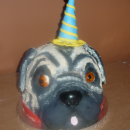 Coolest Pug Party Birthday Cake