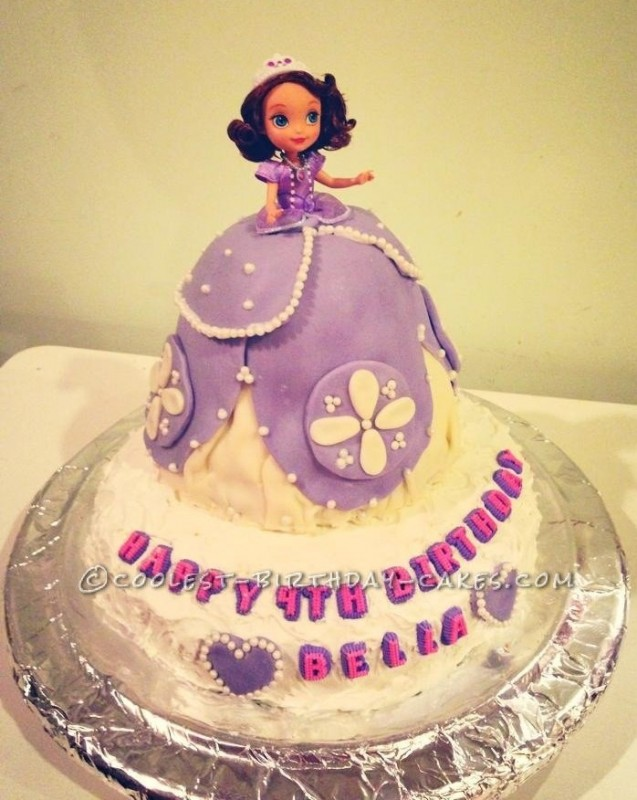 Awesome Sofia The First Cake