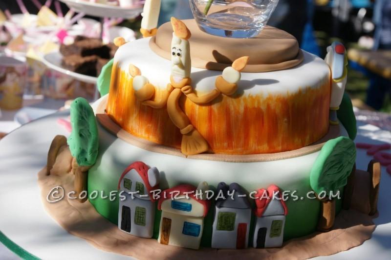 Beautiful Beauty and the Beast Cake