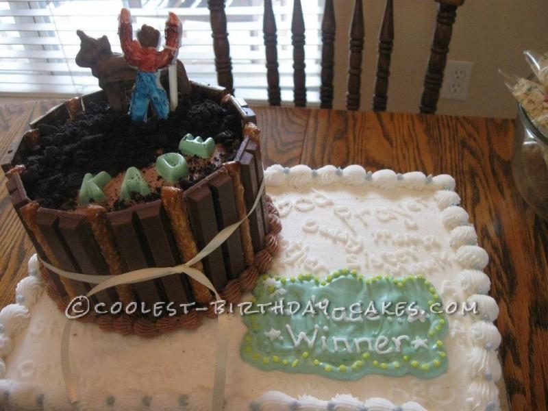 Cancer Free Celebration Cake for a Cowboy