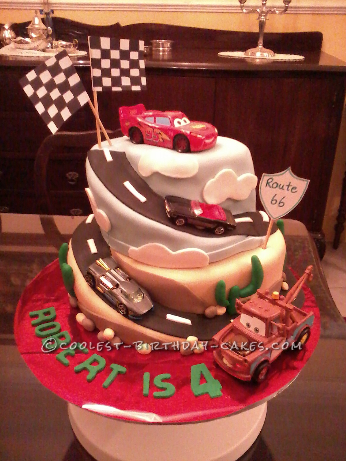 cool car birthday cakes