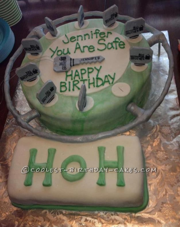 ... Television and Web Series » Big Brother » Coolest Big Brother Cake