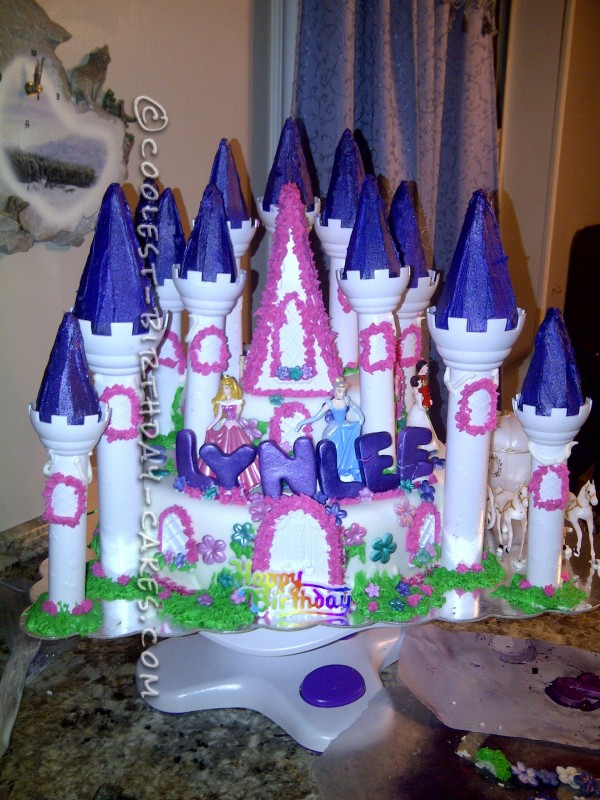 Coolest Homemade Castle Cake