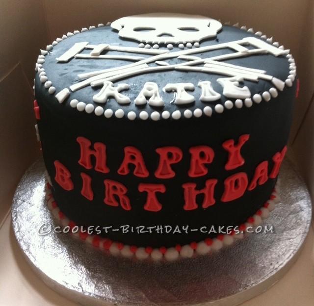 Coolest Jackass Birthday Cake