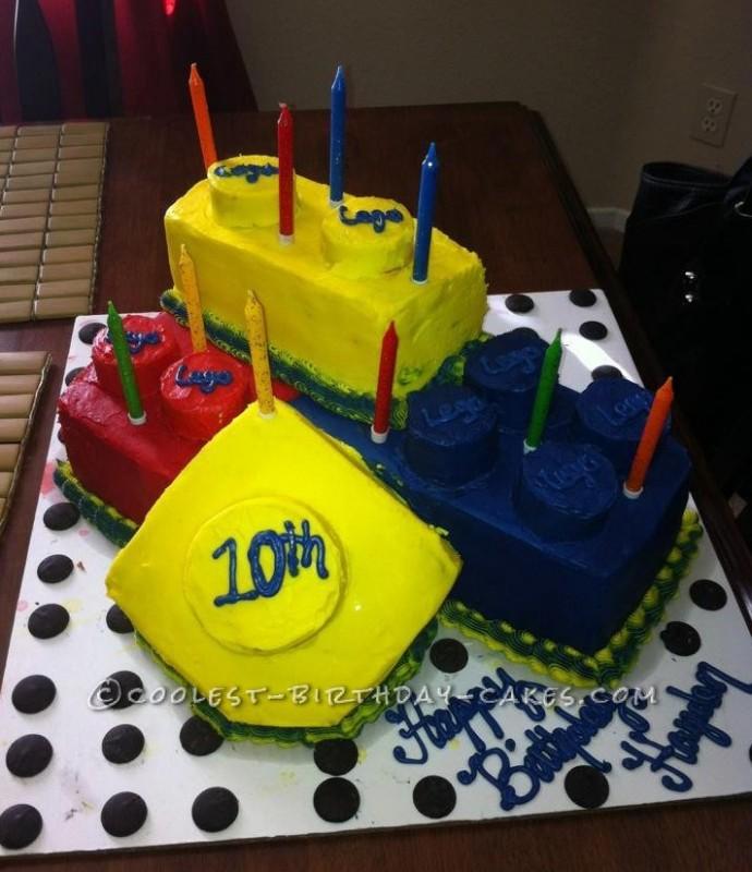 Coolest Lego Cake