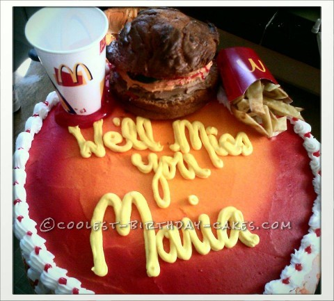 Mc Donald Cake