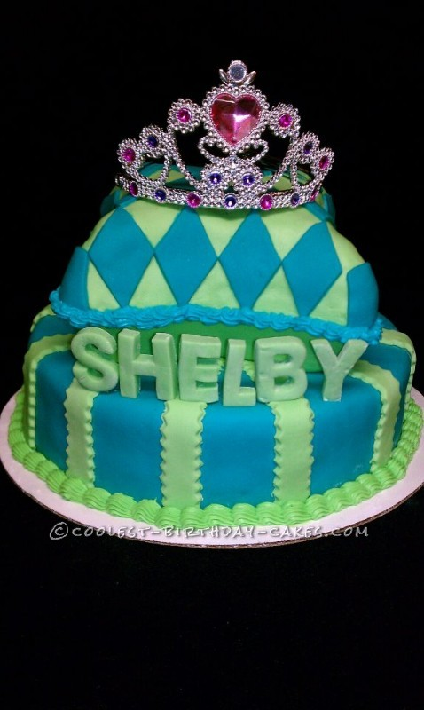 Coolest Pageant Cake