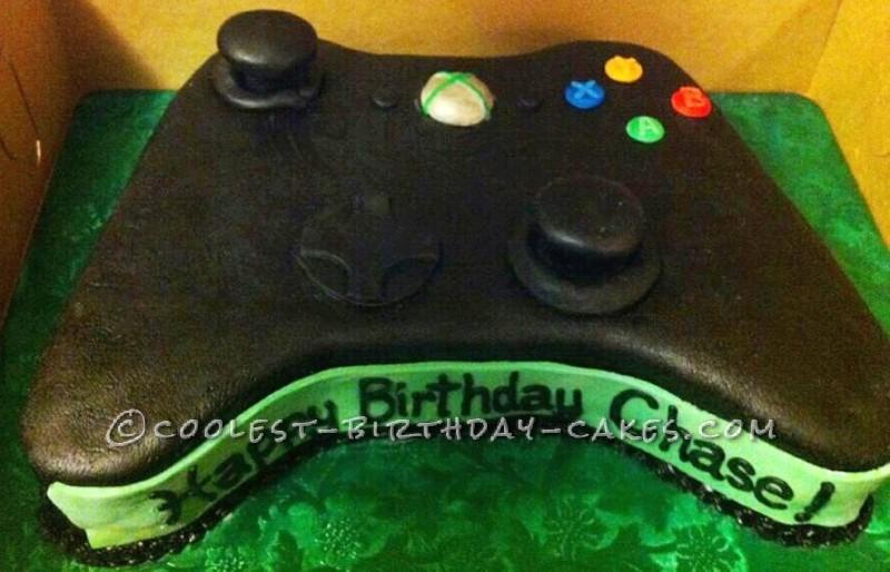 Coolest Xbox Controller Birthday Cake