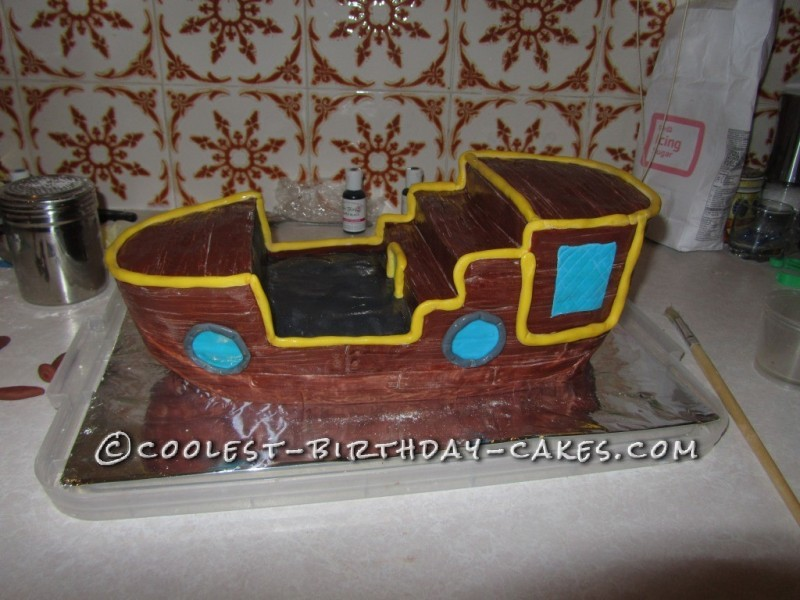 Coolest Bucky from Jake and the Neverland Birthday Cake