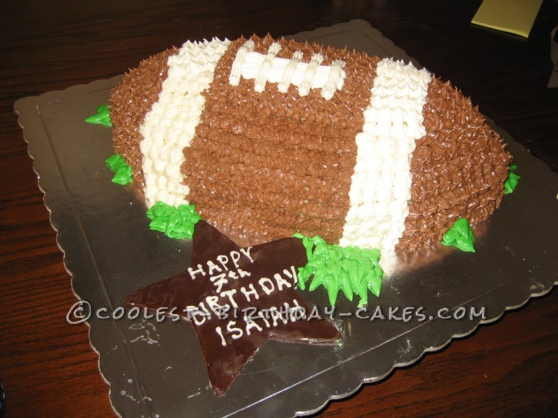 Coolest Football Cake