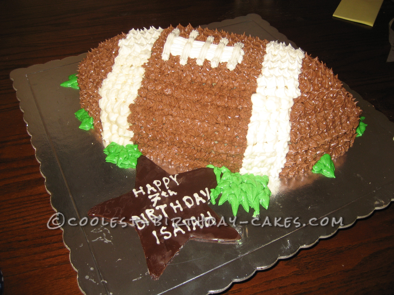 Coolest Football Cake