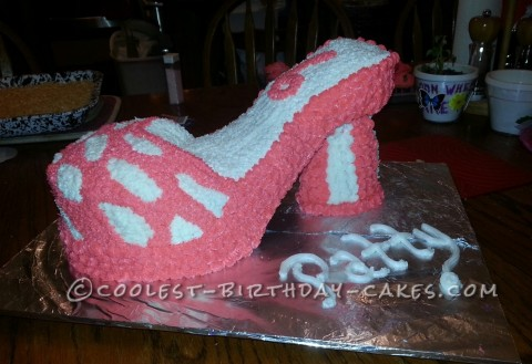 Coolest High Heel Birthday Cake