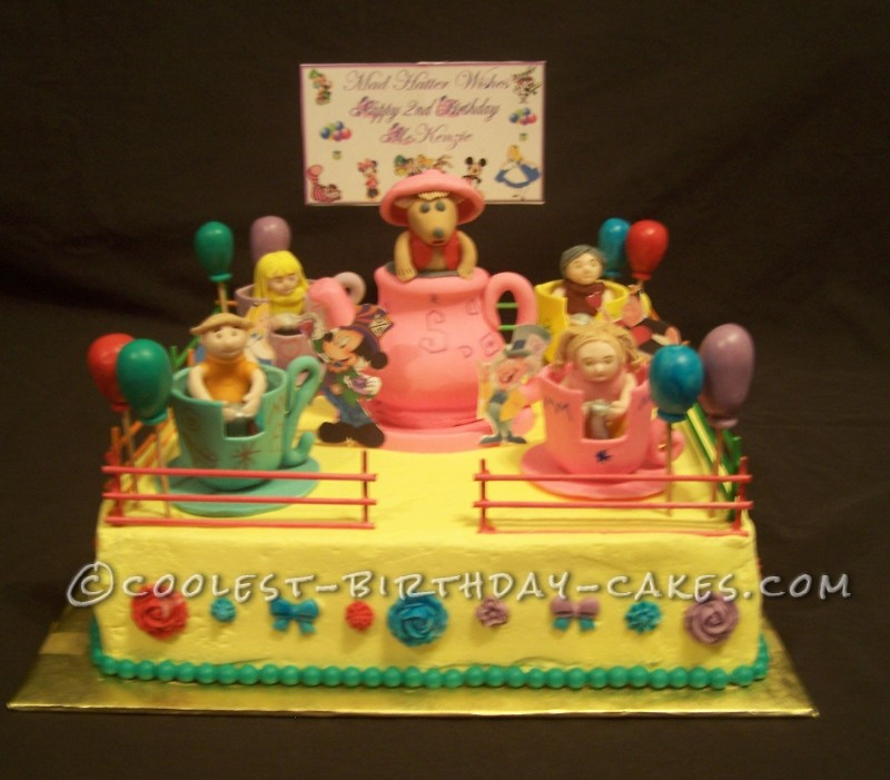 Coolest Little Girl's Mad Hatter Teacup Ride