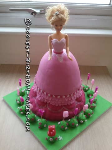 Coolest Princess Birthday Cake - Coolest Princess Cakes